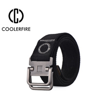 2017New  men army tractical web belt military canvas belts strap casual SWAT combat adjust strap double loop buckle WB004