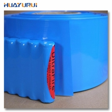 Free shipping 1m long 85mm wide 18650 battery PVC heat shrinkable tube shrink film packaging film Insulating tube Cable Sleeves