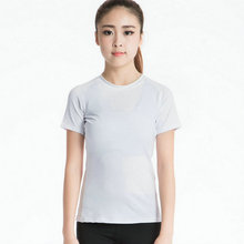 Aipbunny New Lulu Yoga shirts Tops Sports Apparel Fitness Sport t shirt woman Gym Athletic Workout Running Clothes For Women