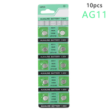 Centechia AG11 362A LR58 362 361 L721 AG11 1.55V Alkaline Button Cell Coin Battery High Capacity Watch(China)