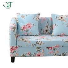 plaid sofa cover fundas universal tension furniture case stretch couch Slipcover l shaped printed fabric colorful sofa cover(China)