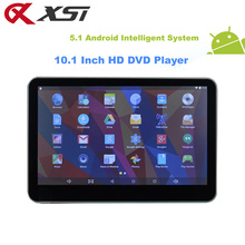 XST 10.1 inch Android 5.1 System Quad Core Car Headrest DVD Player Monitor Support WIFI/HDMI/USB/SD/Bluetooth/FM Transmitter(China)