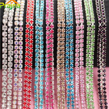 Prajna 2mm 1M Hotfix Rhinestones For Clothes Rhinestone Wedding Dress Shoes Adhesive DIY Rhinestone Decorations Applique A89