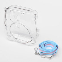 Transparent Crystal Protective Shell Case Crystal Pastic Camera Case For Fuji Fujifilm Instax Mini 8