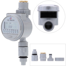 LCD Waterproof Home Automatic Electronic Water Timer Garden Irrigation Controller Digital Intelligence Watering System(China)