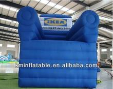 Free shipping giant inflatable sofa large inflatable chair advertising inflatable sofa chair