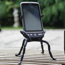 Universal Ajustable Spider Multi Function Grip Mobile Phone Holder Stand Mount For iPhone Samsung Smartphone Bicycle MP4 Book