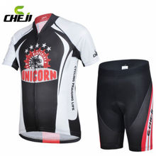 CHEJI Kids Cycling jerseys Ropa Ciclismo Childrens Bicycle Clothing Jersey Shorts Sets Size M-XXL
