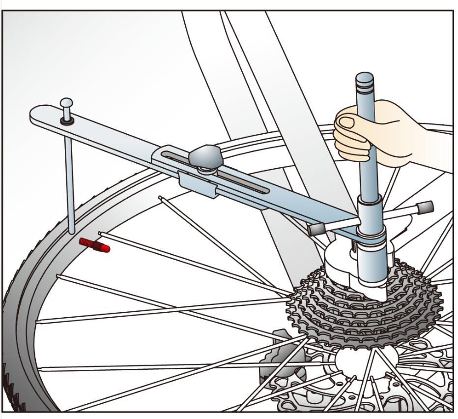IceToolz Xpert Series New Bike Cycle Disc Mount Facing Tool
