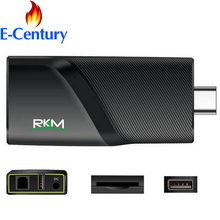 RKM V5 Quad Core 4K Android 4.4 MINI PC RK3288 2G DDR3 16G ROM Bluetooth Dual Band Wifi Gbit Ethernet Tv Stick
