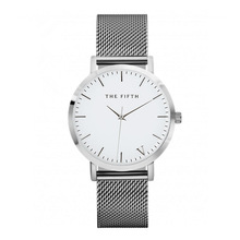 New Classic THE FIFTH Women Watch Ultra Thin Steel Net Belt Men and Women Universal Watch Casual Wristwatch Relogio Feminino