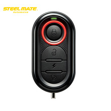 STEELMATE Motorcycle Alarm Remote Start Keyless System Security Vechicle System LCD Display Waterproof Remote Control 986E1 hot(China)