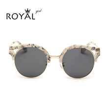 2016 Summer Fashion Round Polarized Sunglasses Women Eyewear Brand Designer glasses Multi color Points Sun Glasses Shades ss453