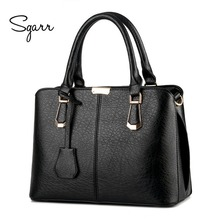 SGARR 2017 New Women's handbag stone pattern with Zipper bag messenger bags hot-selling of fashion handbags all colors women bag