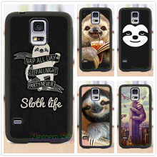 Sloth Life cell phone case cover for Samsung Galaxy s3 s4 s5 note 3 note 4 note 5 s6 s7 s6 edge s7 edge #CG286