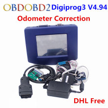 Digiprog 3 OBD Version Odometer Correction Tool Digiprog III Main Unit ONLY Digiprog3 Mileage Programmer OBD2 ST01 ST04 Cable(China)