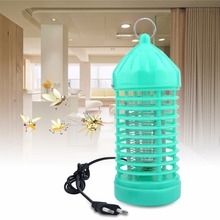 220V Electronic Photocatalyst Flying Insect Pest Mosquito Moth Bug Killer Fly Catcher Trap Anti-mosquito Lamp Light EU Plug(China)