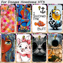 TAOYUNXI Cell Phone Shell Protective Cover For Doogee Homtom HT3 Doogee Homtom HT3 PRO Cases Soft TPU Cartoon Shell Cover Hood