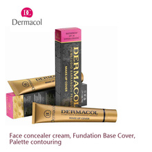 DERMACOL MAKE-UP COVER Legendary high covering make-up natural looking finish for your entire face and body pack of 4pcs
