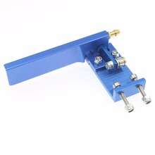 Aluminum Rudder 75mm Long Width 45mm with Water Pickup Suction Inlet For Electric / Gas Powered RC Boat Replacement CNC
