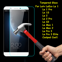 Tempered Glass Screen Protector Explosion-proof Protective Film Case Cover For Letv LeEco Le 1 1S 2 S3 Pro 3 Elite Cool Max 1 2