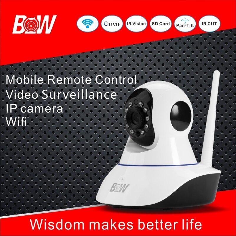 BW Smart Surveillance Wifi IP Camera Wireless IP Camera Wi-Fi P2P 1080*720P HD 360 Degree Security Camera Wi Fi Alarm Onvif<br><br>Aliexpress