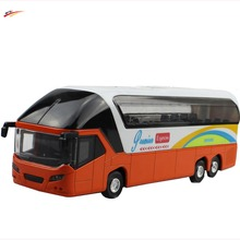High simulation School Bus 1:43 Scale ABS Alloy Doors School Bus Model Diecast bus Cars Toy Children's gift(China)