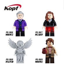 Building Blocks Mysterious Doctor Who Dr. Assistant Weeping Angel Christopher Eccleston Super Heroes Children Gift Toys PG8038(China)