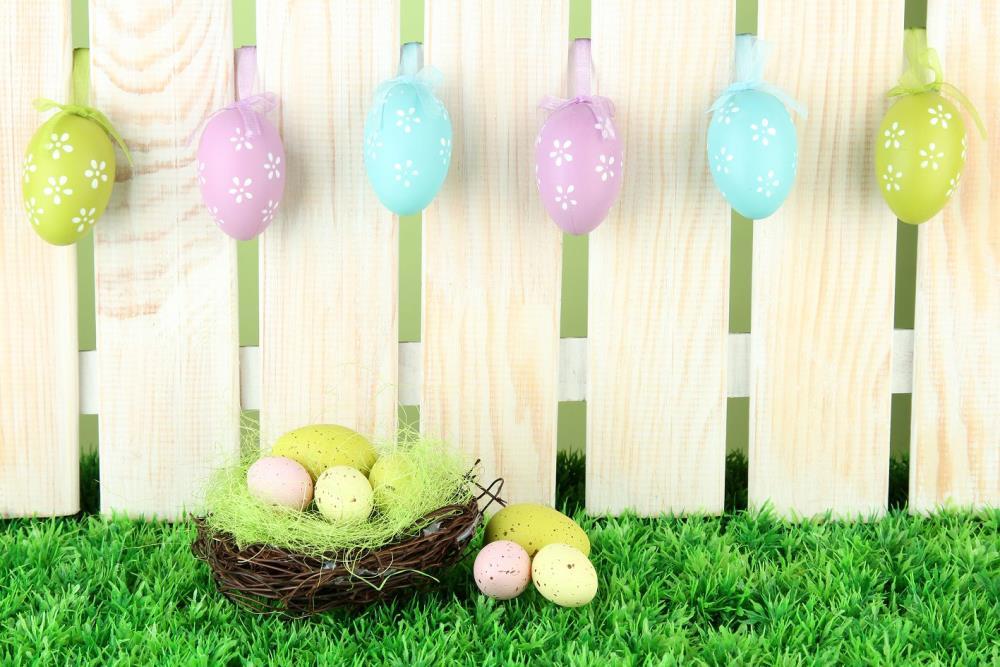 600cm*300cm easter photography backdrops Wooden nest egg backdrop Easter Day ZJ<br><br>Aliexpress