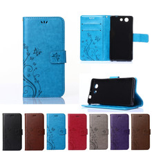 Buy Case Sony Xperia Z 3 Compact Z3 mini D5803 D5833 M55W Solid color Wallet Flip Phone Leather Cover Sony Xperia Z3mini for $4.08 in AliExpress store