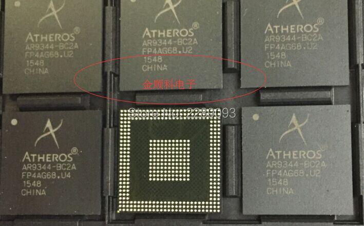 Free Shipping! New Original 5pcs/pack AR9344-BC2A AR9344 BC2A Dual-Band Wireless WLAN Chip BGA<br>