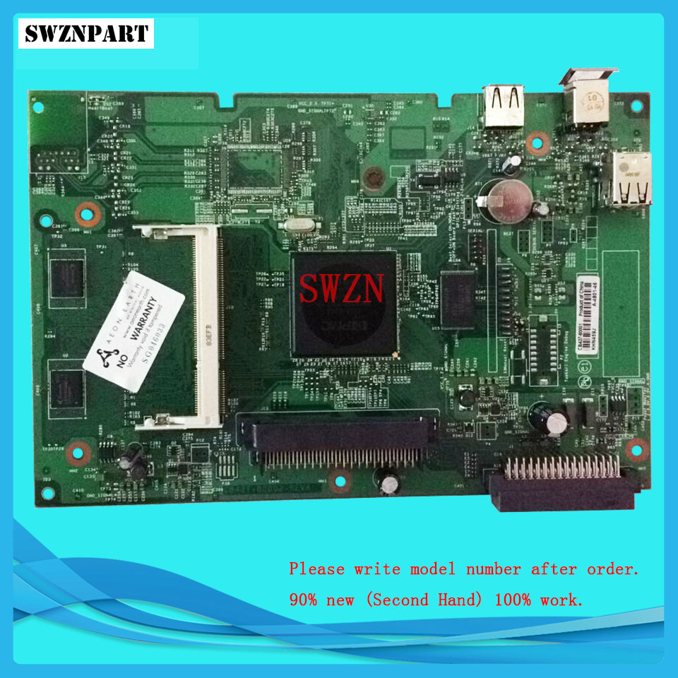 FORMATTER PCA ASSY Formatter Board logic Main Board MainBoard mother board for HP P4014 P4014D 4014 4014D CB437-60001<br>