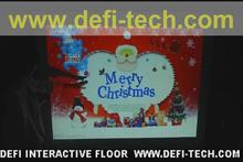 2016 news!! DEFI  Interactive floor projection system  with 130 effects including several different Christmas effect