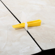 700pcs Floor Wall Plastic Wedge Clip slippage-free floor surface Wedge Clip Tool Tile thickness 8~13 mm(China)