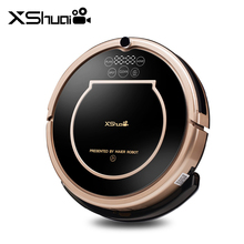 HAIER XShuai HXS-T370 Robotic Vacuum Cleaner 1500Pa Powerful Suction Alexa Voice Control Wi-Fi Connected Vacuum Cleaner for Home(China)