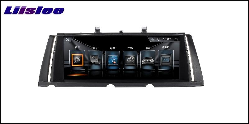 For BMW 7 F01 F02 F03 F04 2013~2015 LiisLee Car Multimedia GPS Audio Hi-Fi Radio Stereo Original Style For NBT Navigation NAVI 5