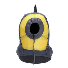 Backpack Transportation Dog Cat Pet Travel Dog Carrier shoulder Yellow S