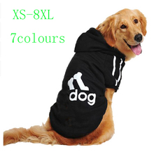 Buy New Windproof Pets Dogs Puppy Vest Jacket Pet Clothing Warm Dog Winter Clothes Coat Small Medium Large Dogs 7 Colors XS-8XL for $2.78 in AliExpress store
