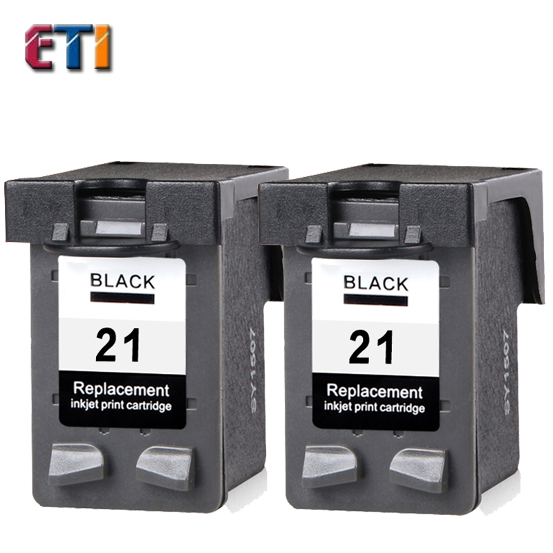 2PK For HP 21 XL Ink Cartridge Compatible HP21XL C9351A For HP Deskjet 3915 3920 D1530 D1320 D1311 D1455 F2100 F2280 F4100 F4180<br><br>Aliexpress