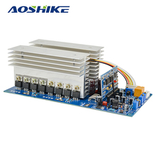 Aoshike 3000W Pure Sine Wave Power Frequency Inverter Board DC 24V 48V 60V to AC 220V 1500W 3500W with Perfect Protection(China)