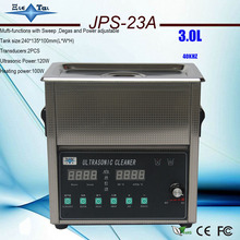 2017 Newest hot sale free shipping JPS-23A 220v/110V 3L Mufti-functions with Sweep ,Degas and Power adjustable(China)
