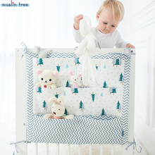 Buy Muslin Tree Bed Hanging Storage Bag Baby Cot Bed Brand Baby Cotton Crib Organizer 50*60cm Toy Diaper Pocket Crib Bedding Set for $8.10 in AliExpress store
