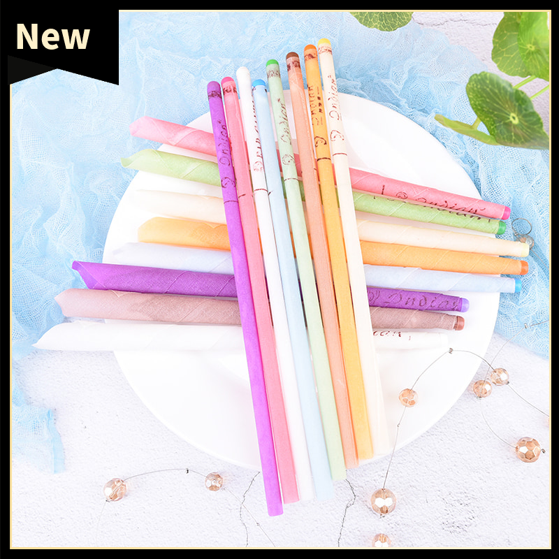 10Pcs Ear Wax Cleaner Healthy Care Ear Cleaner Taper Ear Candles Fragrance Candling Ears Candles Cleane Random Color