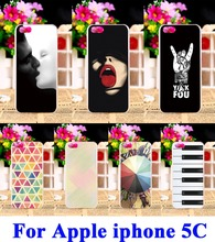 Hard Plastic Soft TPU Phone Case For Apple iPhone 4 5C 4G 44S Iphone4C Back Cover iPod Touch 5 5th 5G Touch5