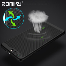 10PCS Romiky Summer Hard PC Case for Huawei Ascend P10 Plu Matte Case Cover Housing for Huawei Mate 9 Mate9 Hollow Out Cases