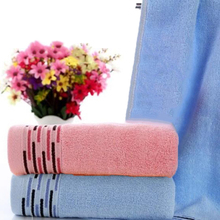 EZLIFE Cotton bath towel washcloth supple and healthy home towels #MS090
