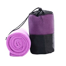 Portable Quick-drying Towel Beauty Microfiber Outdoor Sports Camping Travel Towels With The Bag Hot