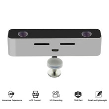 mini camcorder free app download digital dual lens 100 degree wide angle real sense 3D camera
