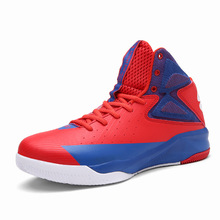 Hot Sale Men's Basketball Shoes Brand Sneakers Sports Shoes Athletic High Top Retro Basketball Shoes Eur Size 39-45 Men Shoes(China)