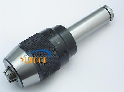 The new one APU13-C25 25MM straight shank Keyless self tight  drill chuck 1-13mm CNC milling machine<br>